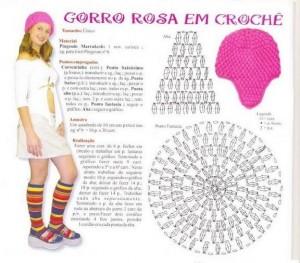10 gorros tejidos a crochet con patrones (1)