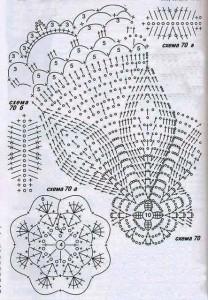 10 gorros tejidos a crochet con patrones (2)