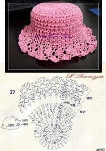 10 gorros tejidos a crochet con patrones (8)