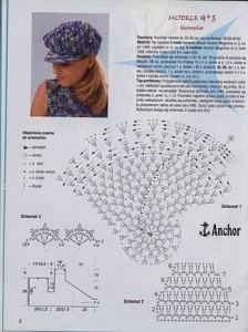 10 gorros tejidos a crochet con patrones (9)