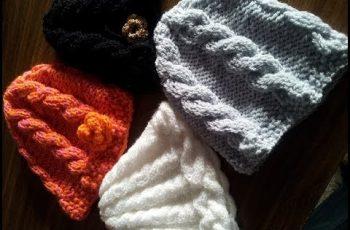 10 gorros tejidos a dos agujas para mujeres (9)