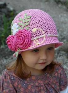 10 gorros tejidos a crochet para bebe (4)