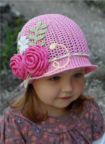 72dedd46b 10 gorros tejidos a crochet para bebe - Gorros Tejidos