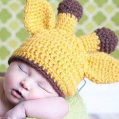 10 gorros tejidos a crochet para bebe (9)