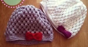 10 gorros tejidos fáciles de hacer (6)
