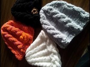 10 gorros tejidos fáciles de hacer (8)