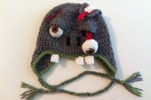 11 Gorros tejidos a crochet de personajes