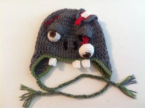 522c371d2 11 Gorros tejidos a crochet de personajes - Gorros Tejidos