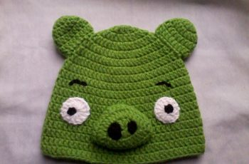 11 Gorros tejidos a crochet de personajes (11)