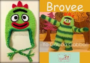 11 Gorros tejidos a crochet de personajes (2)