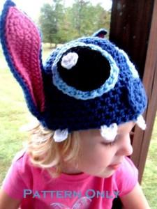 11 Gorros tejidos a crochet de personajes (9)