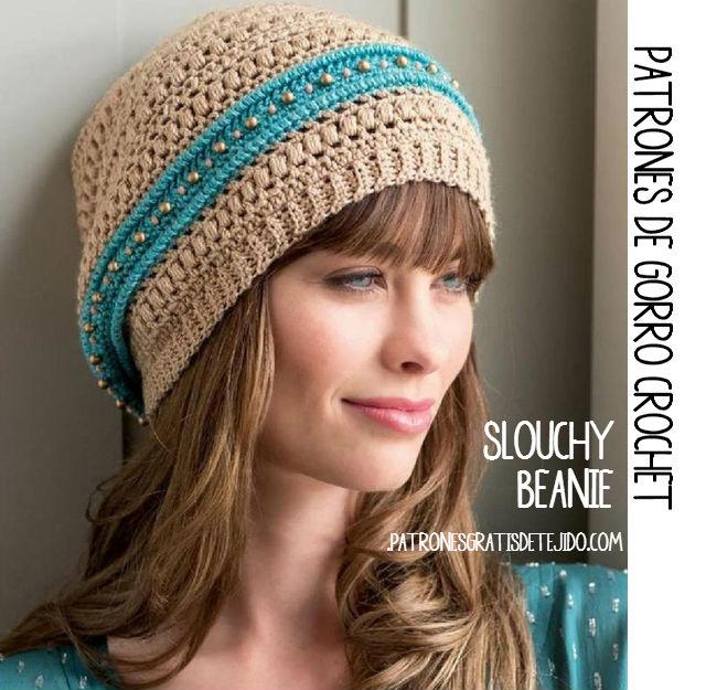 10 gorros tejidos a crochet para mujer - Gorros Tejidos