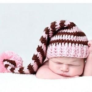 10 gorros tejidos para recién nacidos (1)