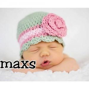 10 gorros tejidos para recién nacidos (3)