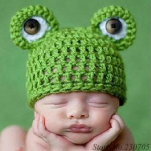10 gorros tejidos para recién nacidos (9)