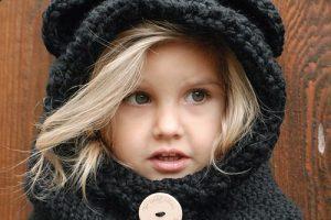 10 gorros tejidos para nena