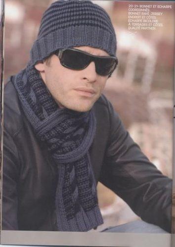 10 gorros tejidos para varón (1)