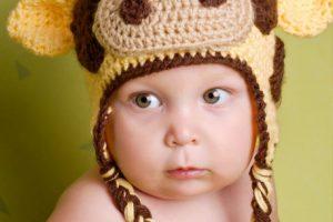 11 gorros tejidos para bebe