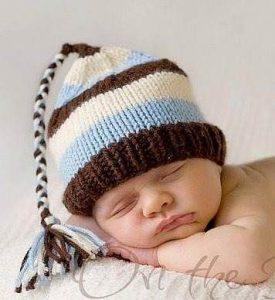 11 gorros tejidos para bebe (11)